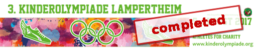 3. Athletes for Charity Kinderolympiade, Lampertheim