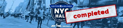 United Airlines Half-Marathon, New York, U.S.A.